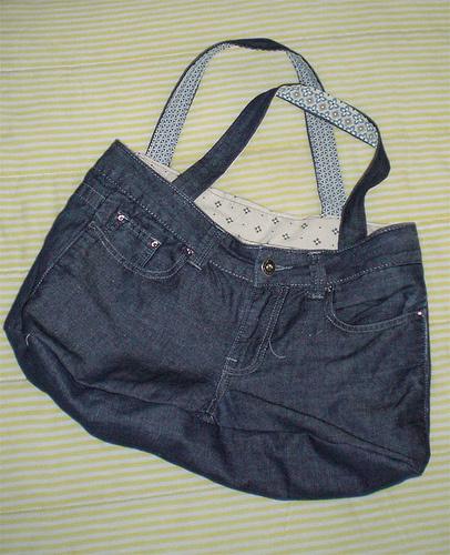 Сумки из старых джинсов, мастер класс