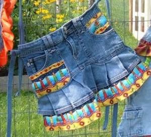 Идеи из джинсов своими руками