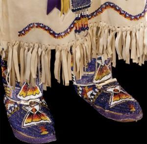 индейская обувь