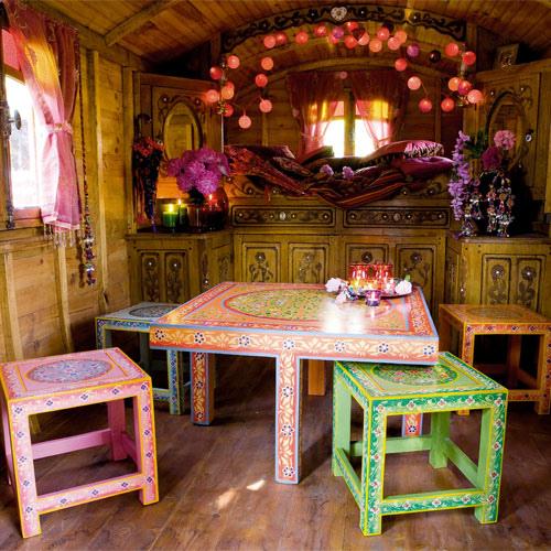 роспись мебели буфет