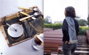 Что можно сделать из старых джинсов - 21 фото идея.