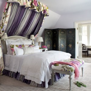 интерьер в английском стиле спальня