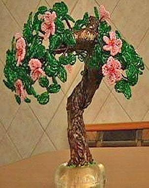 Aug 13, 2012 - ДЕРЕВЬЯ ИЗ БИСЕРА Мастер-класс Захаровой Людмилы Итак, мы будем делать цветущее дерево методом...
