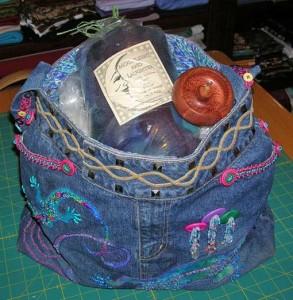 сумка вышитая бисером