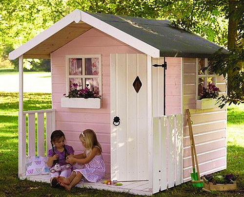 Как сделать летний домик на даче
