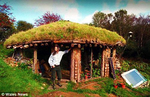 Эко дом в Уэльсе