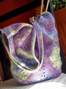 фото сумок связанных крючком.