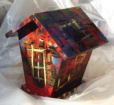 домик расписной
