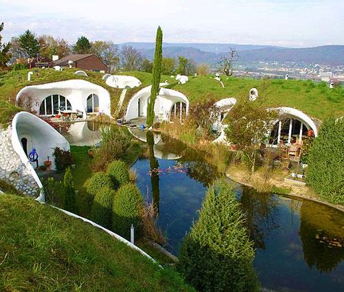 Экологическая гостиница в Швейцарии