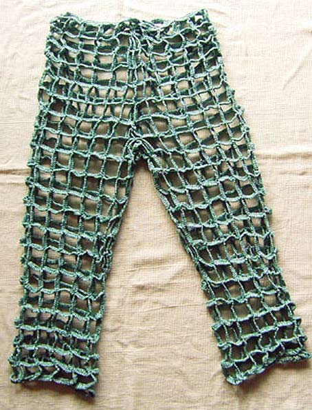 брюки крючком