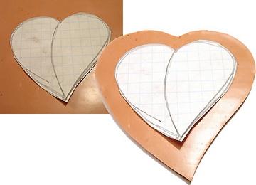 Как сделать кулон в форме сердца из полимерной глины