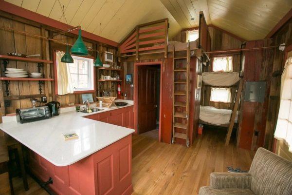 Дизайн внутреннего пространства домика