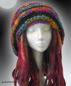 растаманская шапка авторская