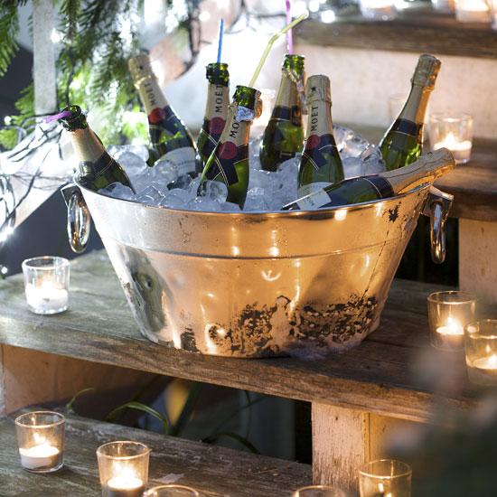 праздничное декорирование стола