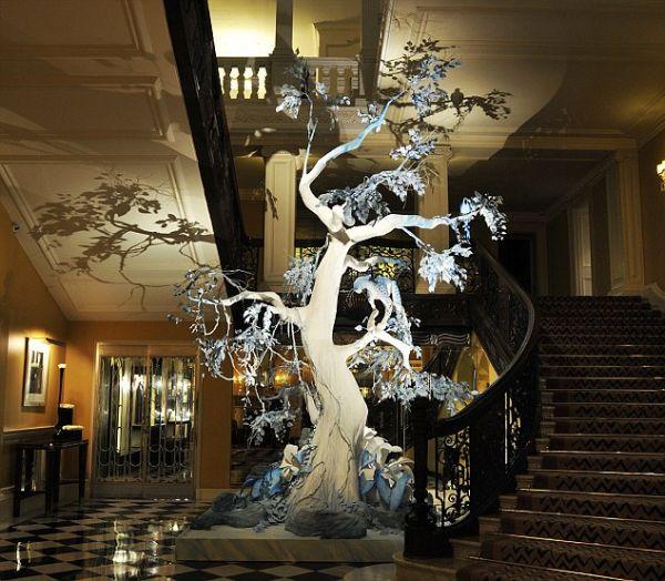новогоднее дерево оригинальный декор