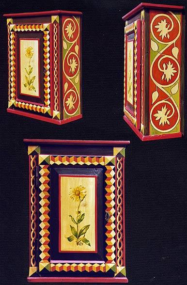 роспись мебели шкаф