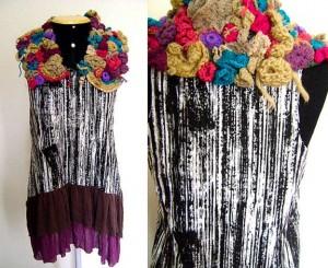 платье крючком фриформ