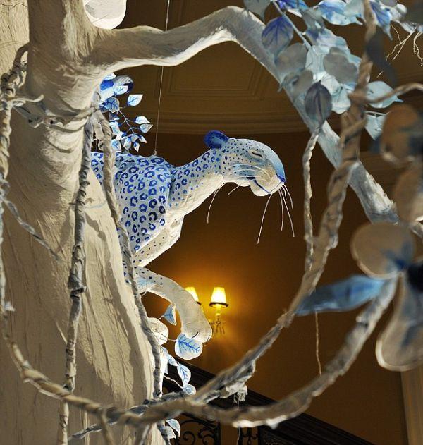 новогоднее сказочное дерево декорирование