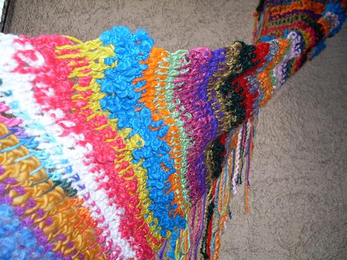 вязание крючком фриформ
