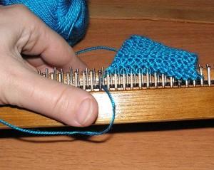 машинное вязание образец вязальная машина буковинка провязывание ряда