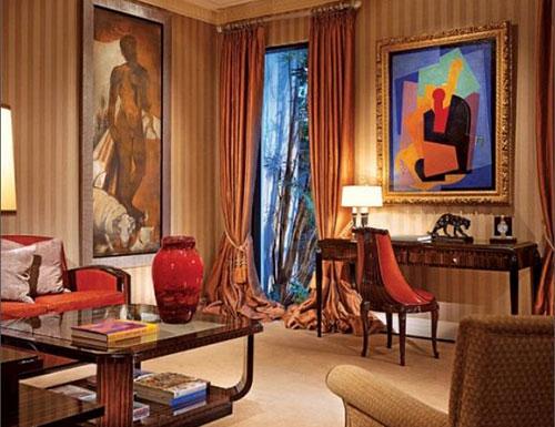Стиль арт деко в дизайне интерьера гостиной