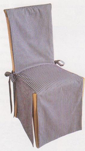 Как сшить чехлы для стульев своими руками