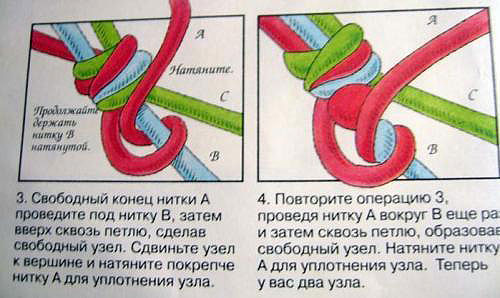 Инструкция по плетению фенечки