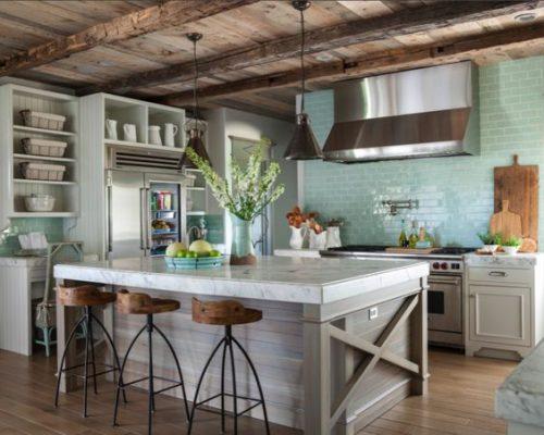 Прованс в интерьере кухни - фото идеи дизайна