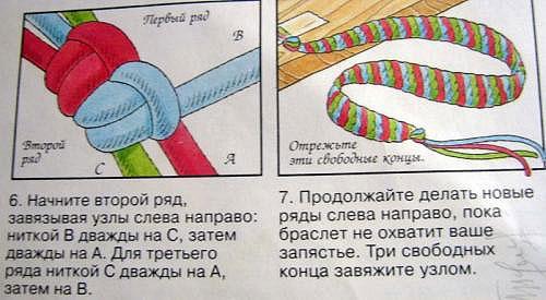 Как сплести простую фенечку