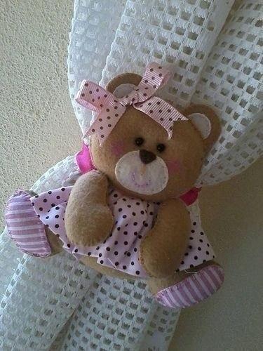 Игрушка медвежонок - подхват для штор