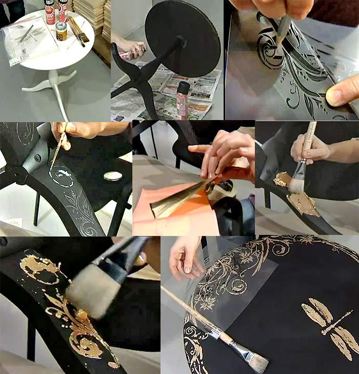 Декорирование своими руками мастер класс