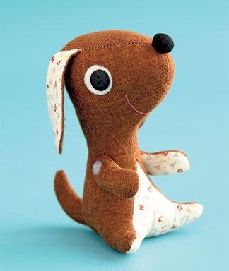 Как сделать игрушку собаку