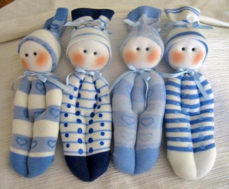 куклы из носков своими рукам