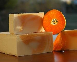 апельсиновое мыло