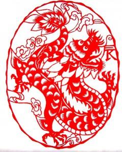 китайские рисунки дракон 3