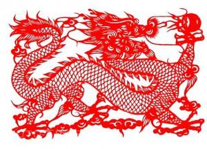 китайские рисунки дракон 5