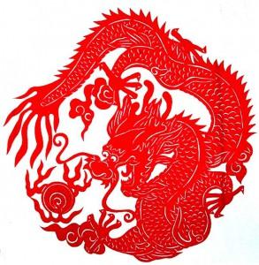 китайские рисунки драконы 6