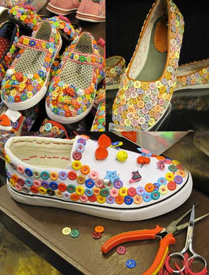 декор обуви своими руками