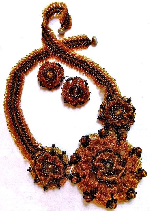 Клематис из бисера схема плетения фото 533