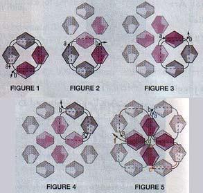 схема серьги из бисера