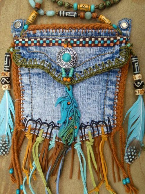 Из джинсов своими руками покрывало
