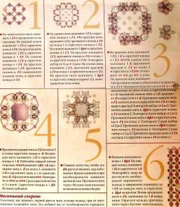 схемы кольцо из бисера