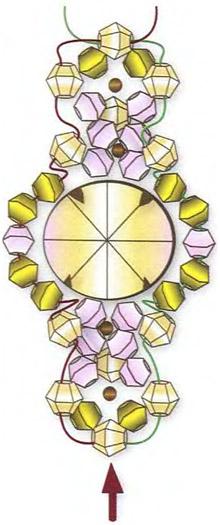 Кольцо с топазом — пошаговые схемы изготовления