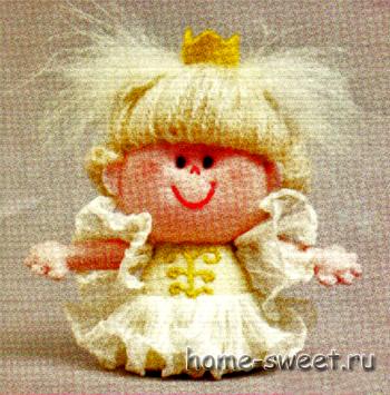 маленькая кукла своими руками