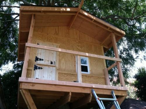Как построить красивый дом на дереве – фото руководство