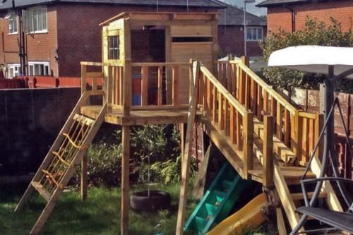 Детская площадка форт 16