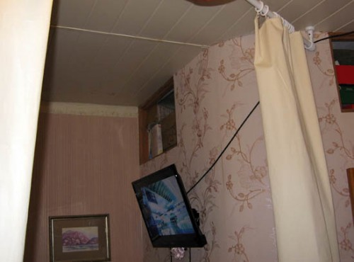 Небольшая спальня альков в проходной комнате своими руками