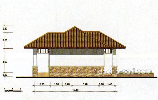 проект частного дома высота и ширина