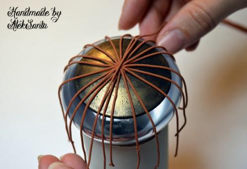 Техника кругового плетения из пластики 2