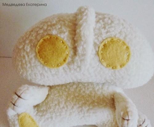 Заяц игрушка 24